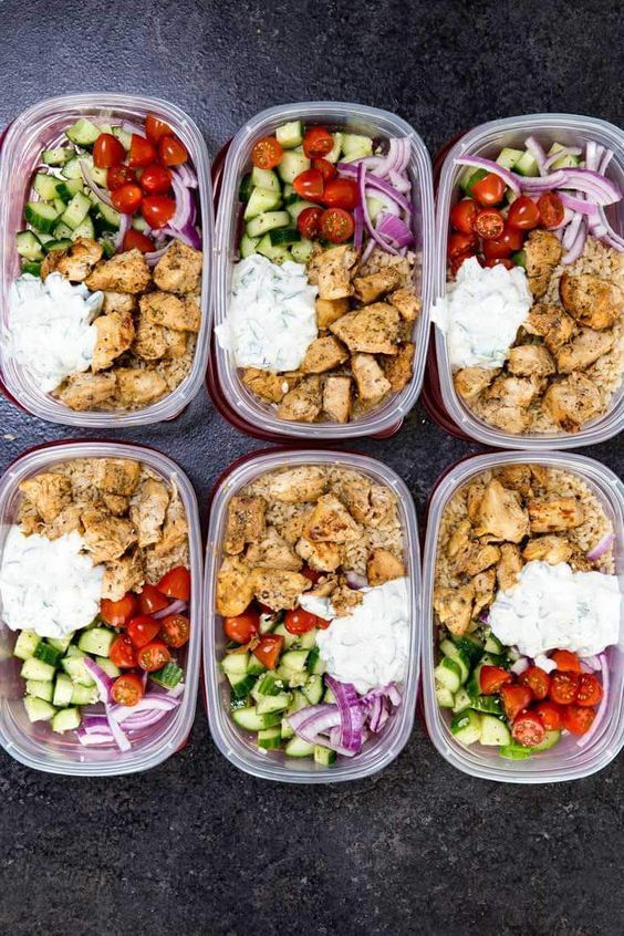 20 Healthy Dinners You Can Meal Prep on Sunday #healthyfoodprep