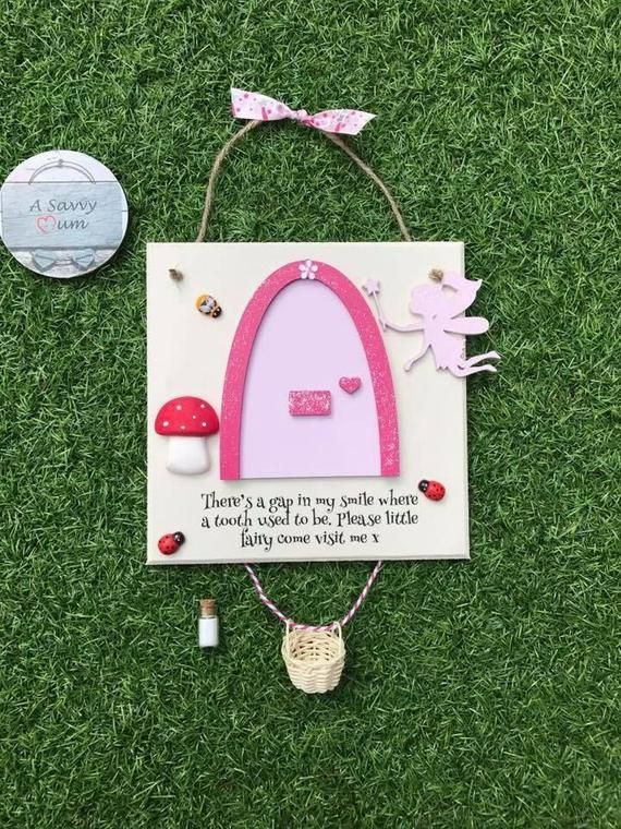 Tooth Fairy Plaque, tooth fairy, tooth fairy ideas, toadstool, tooth fairy door, elf, great gifts for girls, pretend play, tooth collection #toothfairyideas Tooth Fairy Plaque, tooth fairy, tooth fairy ideas, toadstool, tooth fairy door, elf, great gifts fo #toothfairyideas