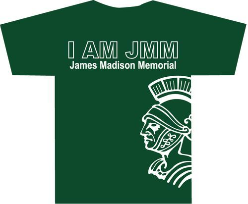 high school t-shirt designs | James Madison Memorial Student ...