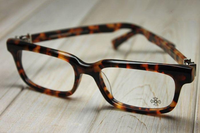 48223c399aab CHROME HEARTS PONTIFASS HavanaTortoise Glasses Eyewear Eyeglasses Frame  Sterling Silver
