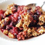 Easy Berry Crumble