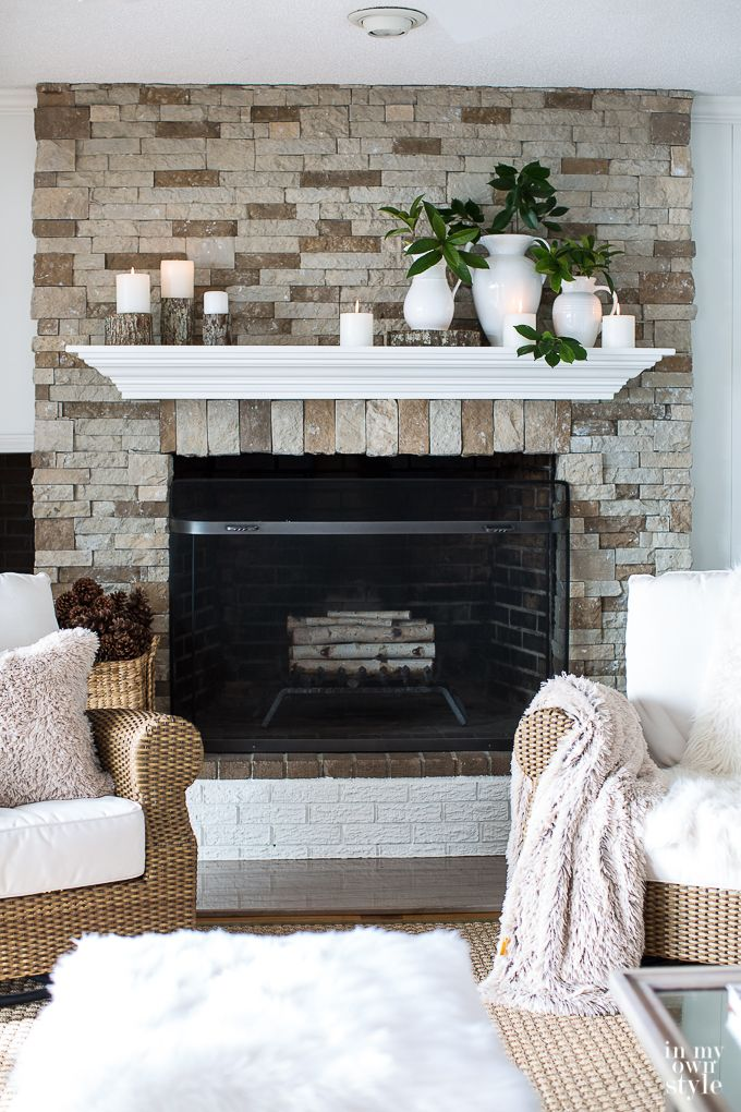 Winter Decorating Ideas Relax Renew Reset In My Own Style
