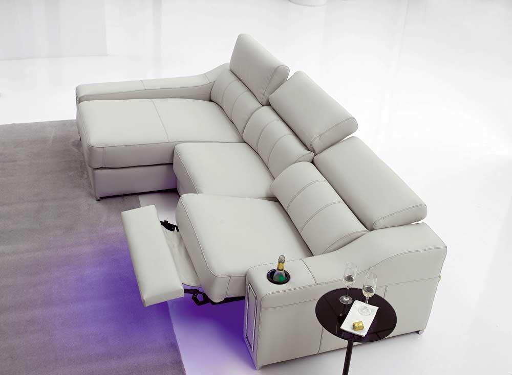 Rachel este complet simo sof con 1 asiento relax - Asientos para sofas ...