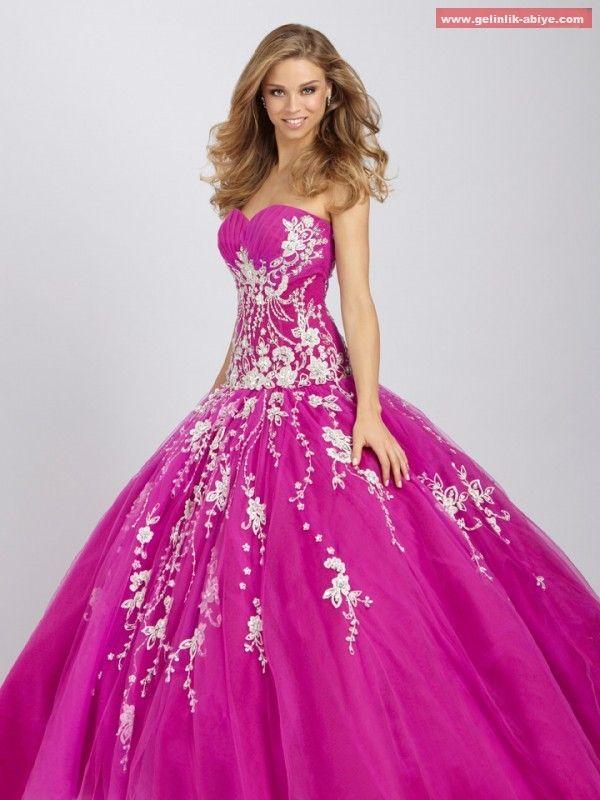 2524c7de83714 Kabarık Nişanlık Modelleri | Gelinlikler | Gelinlik, Elbiseler, Kıyafet