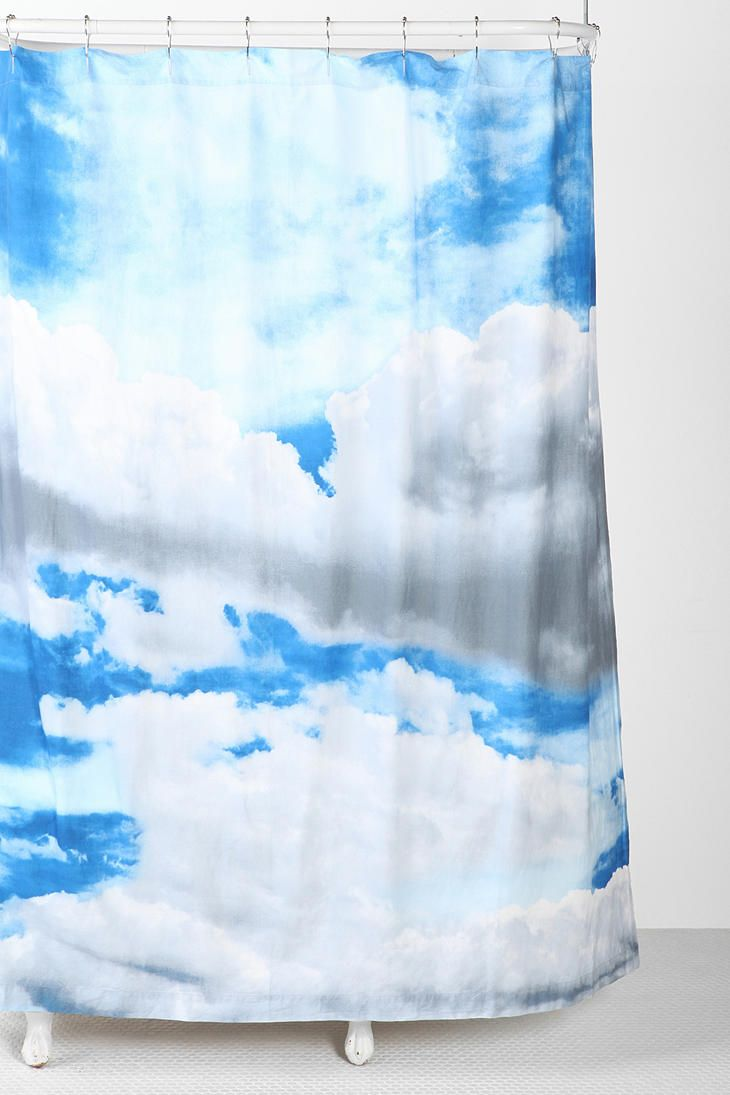 Cloud Shower Curtain Urban Outfitters Curtains Shower Curtain