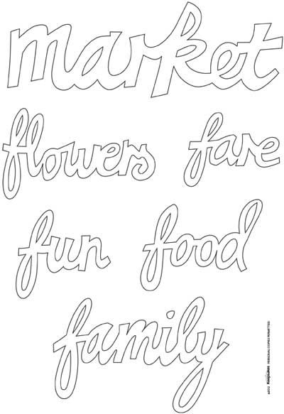 Weekly Wednesday Download: Hand drawn Scrapbook Titles by
