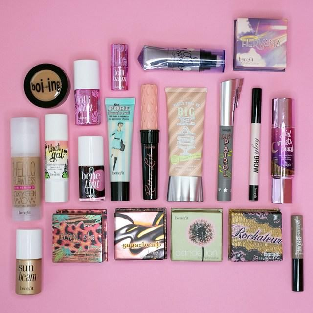 Everything we need (& more!) for a flawless weekend face! What are your fave Benefit products for a casual weekend look? #benefit