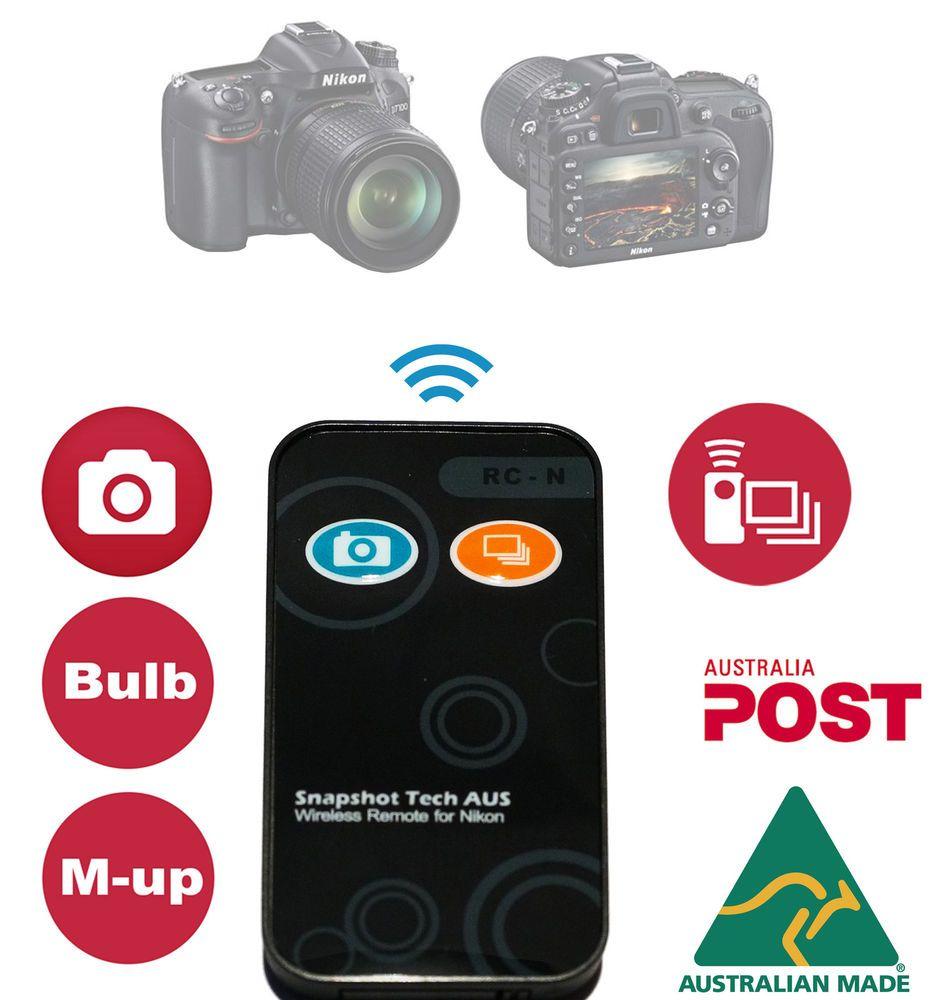 Details about Burst Mode Remote Control Nikon D750 D5300