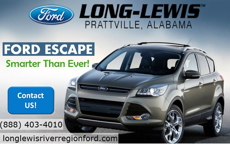 The Most Fuel Efficient Ford Escape For Sale In Alabama Ford