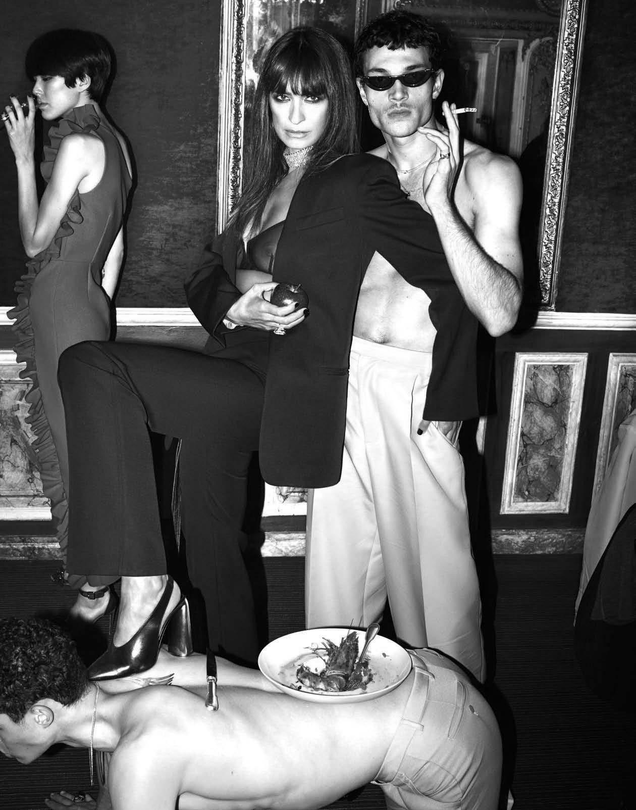Young Vogue Italia December 2017 nude photos 2019