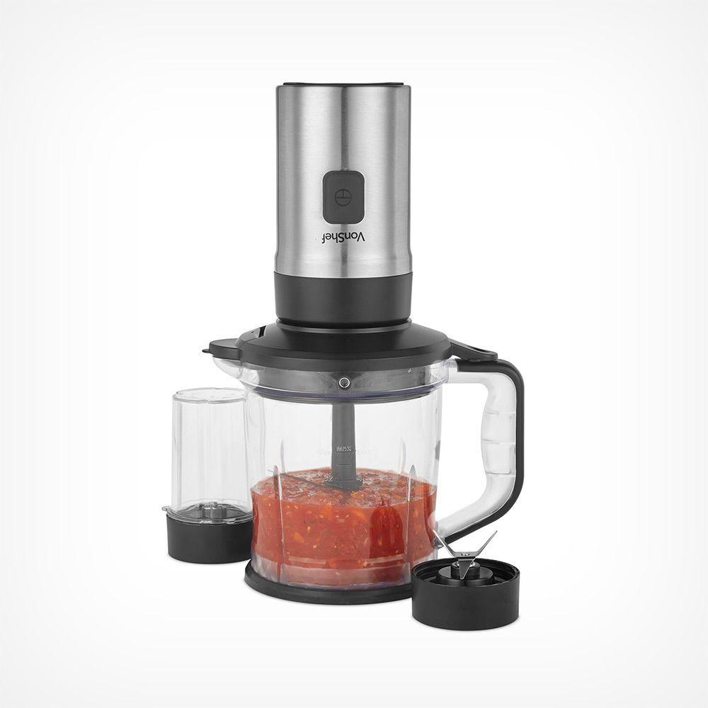 500w personal blender coffee beans salad ingredients
