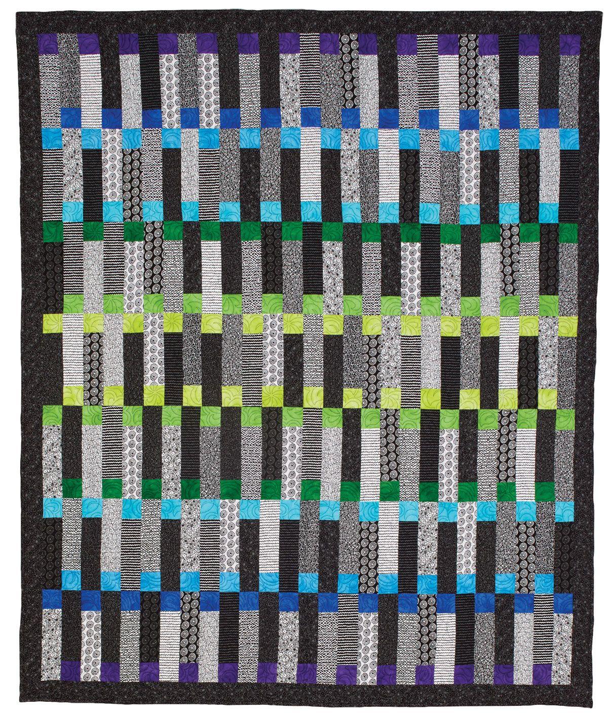 cerulean quilt  contemporary quilts patterns and quilt modern - cerulean quilt