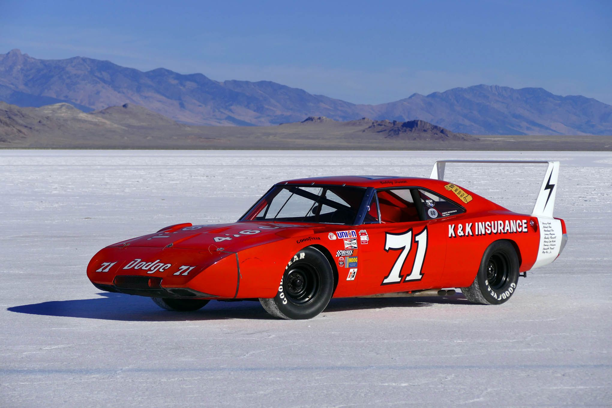 Dodge Daytona 1969 Nascar 01 Race Muscle cars Pinterest