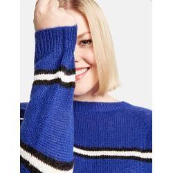 Pullover im Streifen-Look Blau Gerry WeberGerry Weber