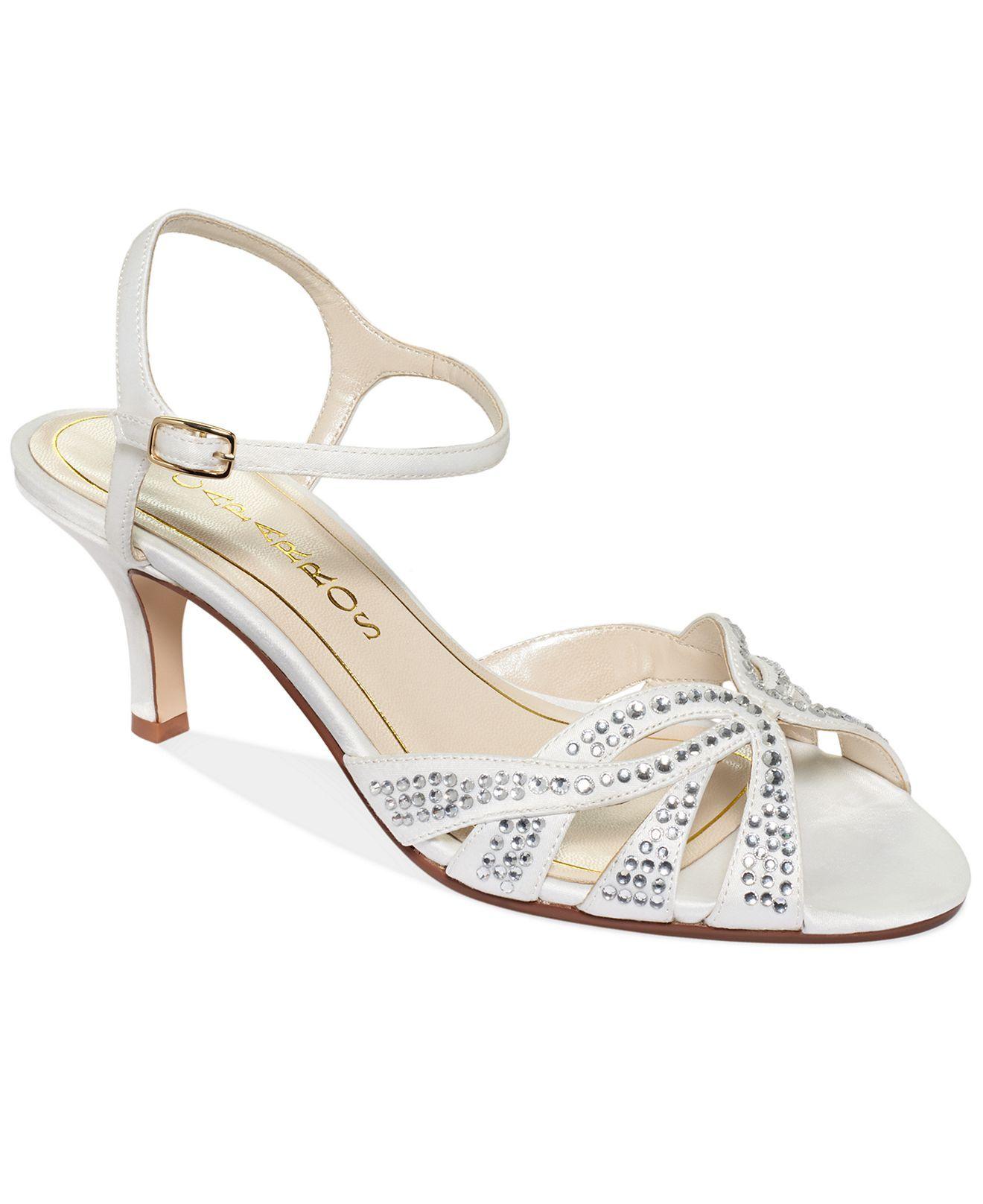 Caparros Shoes Heirloom Mid Heel Evening Sandals Evening Bridal Shoes Macys Caparros Shoes Sandals Evening Sandals