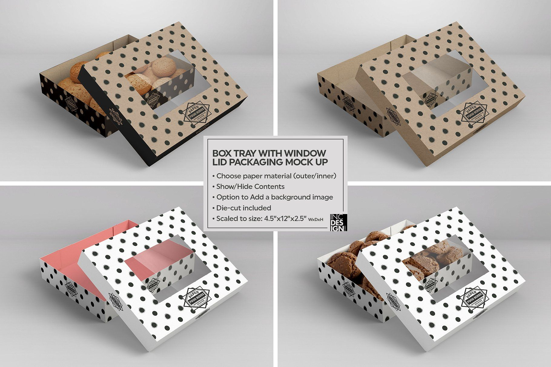 Download Vol 6 Food Box Packaging Mockups Food Box Packaging Packaging Mockup Free Packaging Mockup