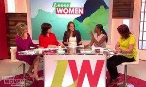 Jamelia on Loose Women plus size row on live TV