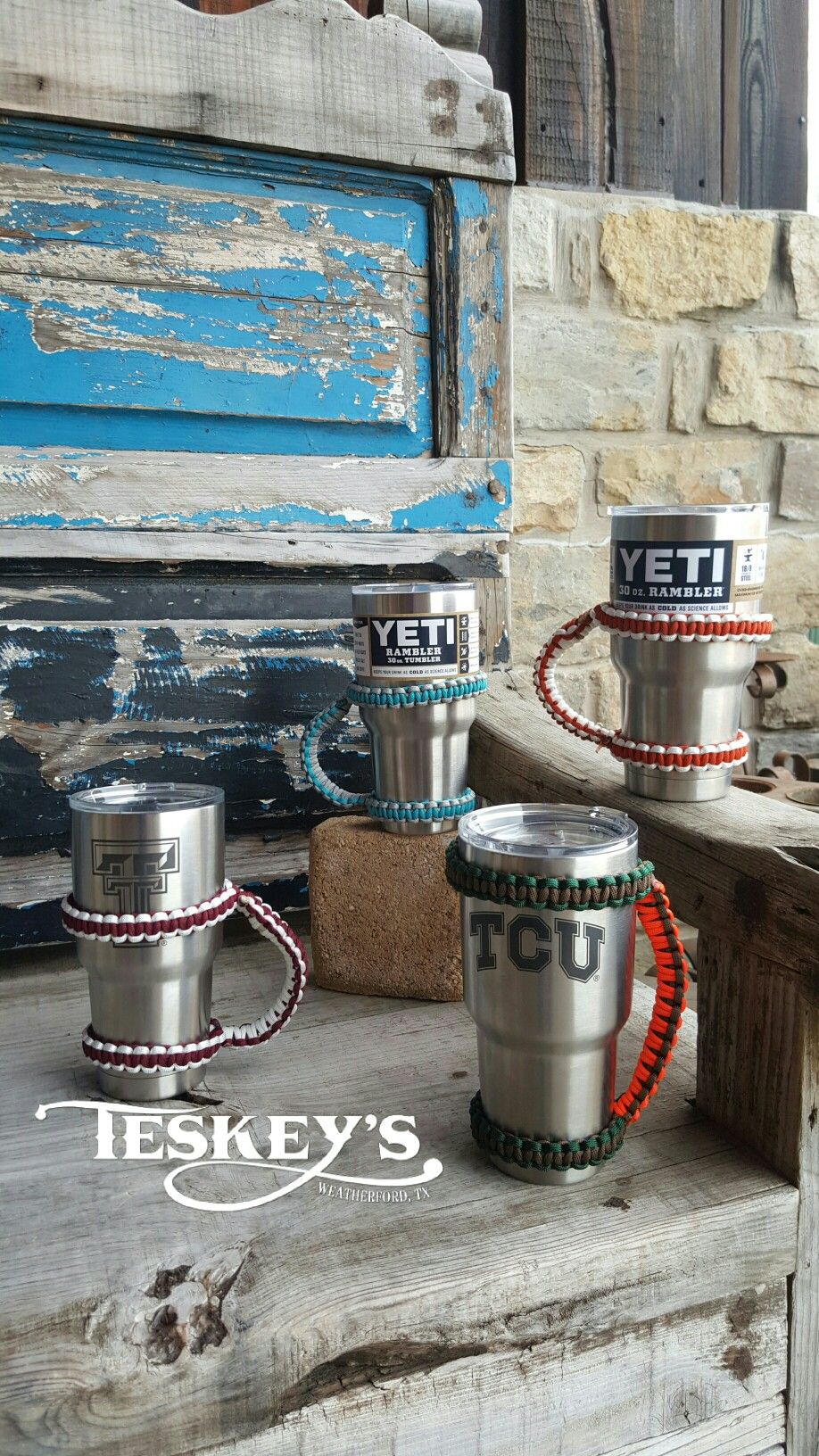 Handmade, quality yeti cup handles! These have been a