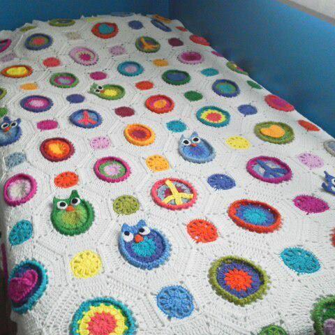 Manta de Artesanato tejidos