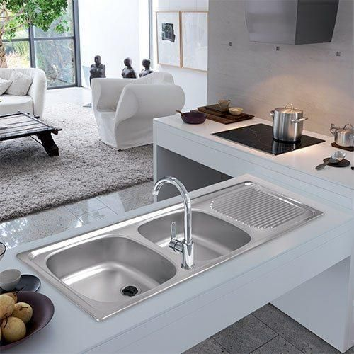 Projectline Kitchen Sink Inset Drop In Pln621 Interieur Woonkamer Interieur Woonkamer