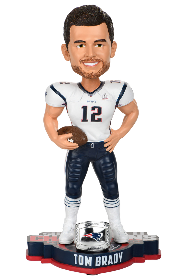 New England Patriots Super Bowl Li 51 Bobbleheads New England Patriots Super Bowl Li Patriots