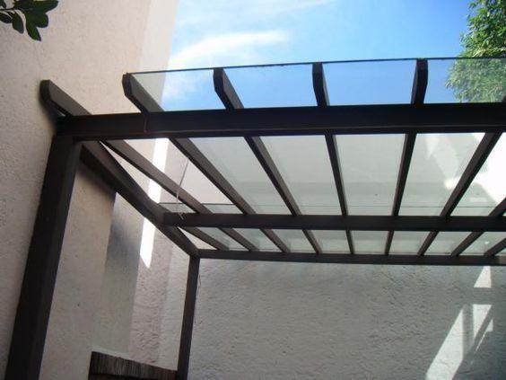Techos herreria moderna galeria en 2019 techos para - Marquesinas para terrazas ...