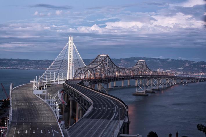 S T A Y F R E S H Baybridge At Dawn Bay Bridge Bridge Photography San Francisco Travel