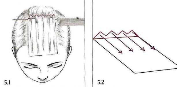 Техника мелирования в картинках