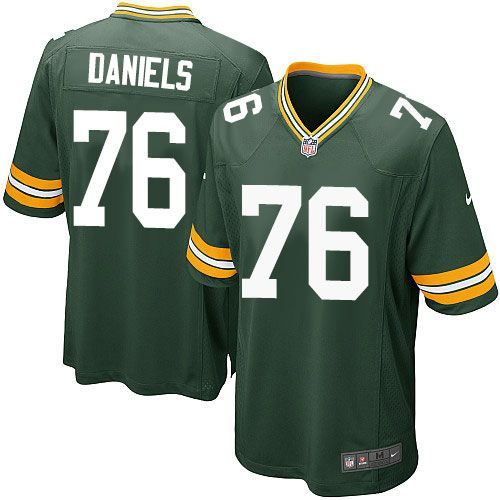 Nike Game Mike Daniels Green Men's Jersey - Green Bay Packers #76 ...
