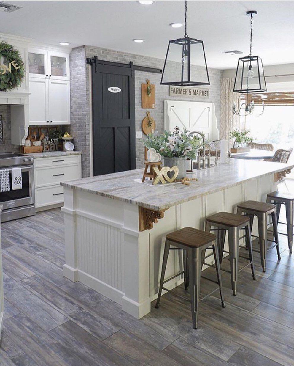 Farmhouse Kitchen Interior