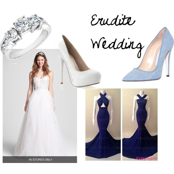 """Erudite Wedding"" by jyelken on Polyvore"
