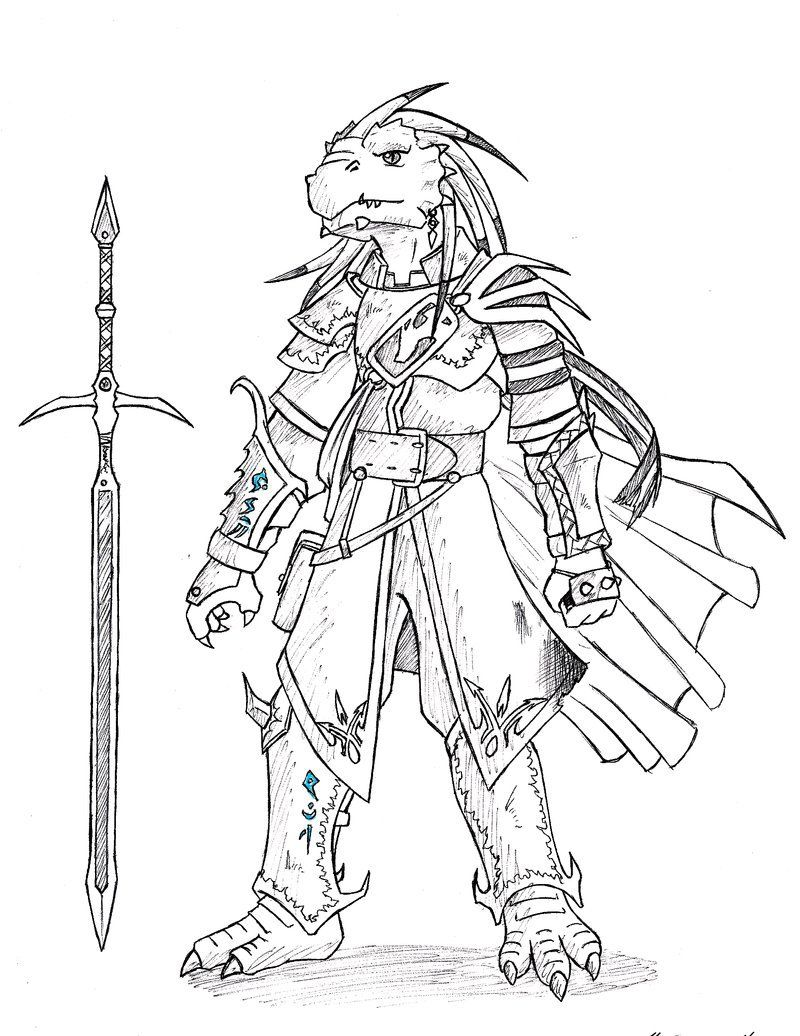 Dnd Dragonborn Hido By Spirogs With Images Dnd Dragonborn