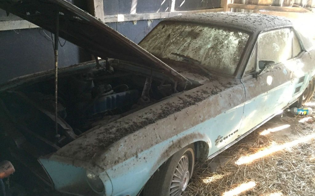 1967 Ford Mustang Barn Find - http://barnfinds.com/1967-ford-mustang-barn-find/