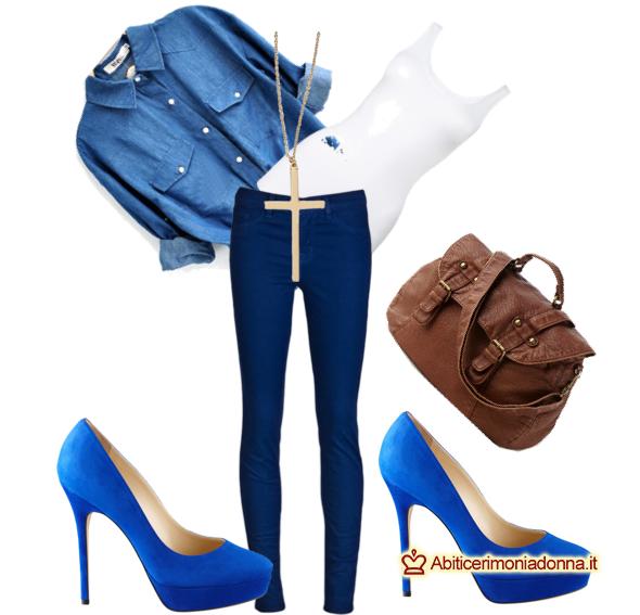 f5e8f1ec302f Come abbinare scarpe Decolté blu elettrico: consigli e abbinamenti per  diversi look!