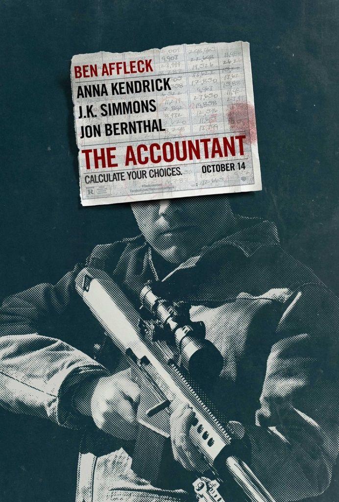 The Accountant (2016) ben affleck poster film cinema