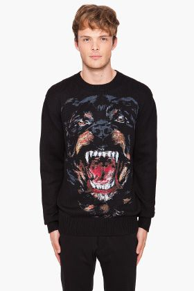 Givenchy - Rottweiller Sweater  88dfc77126e9