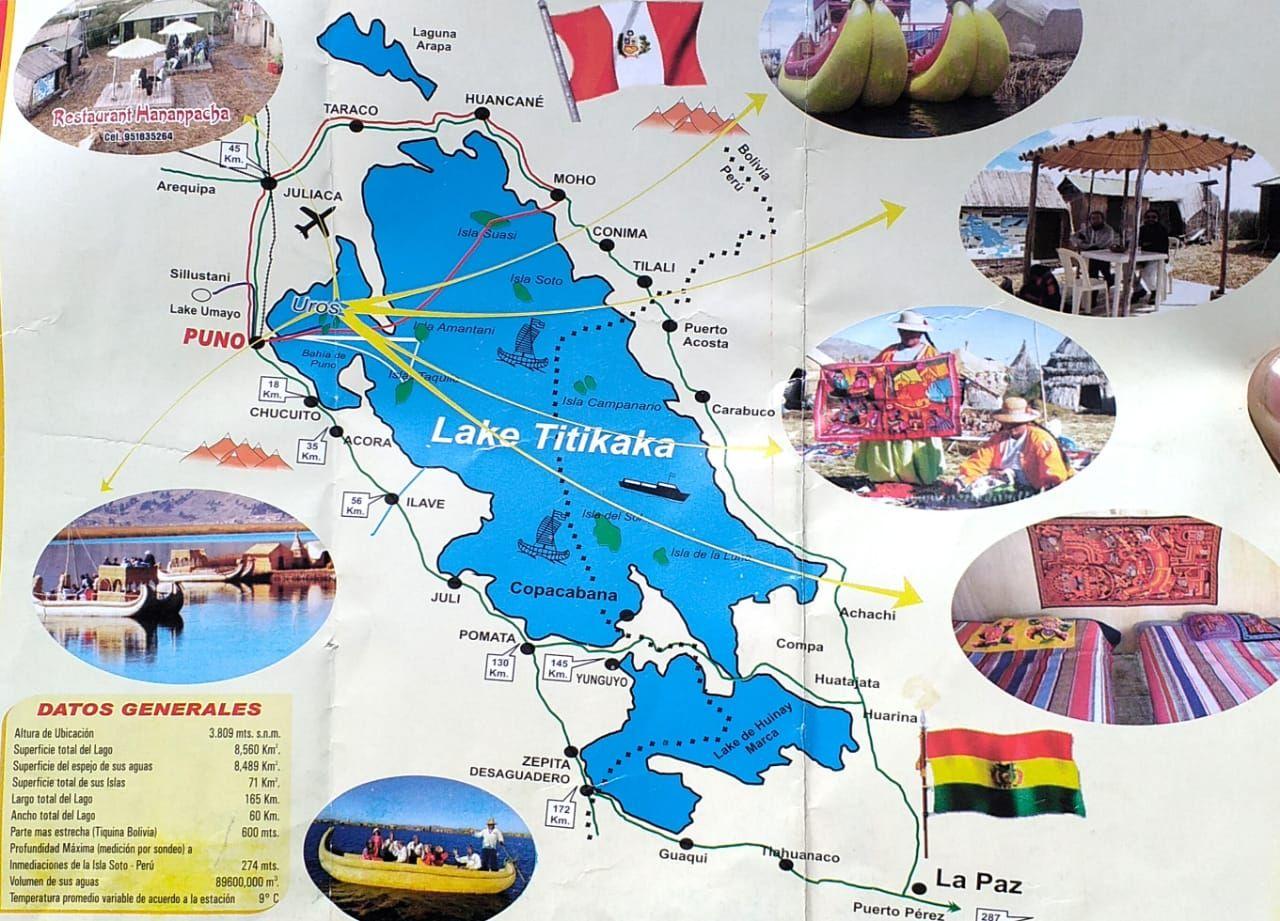 Donde esta el lago titicaca