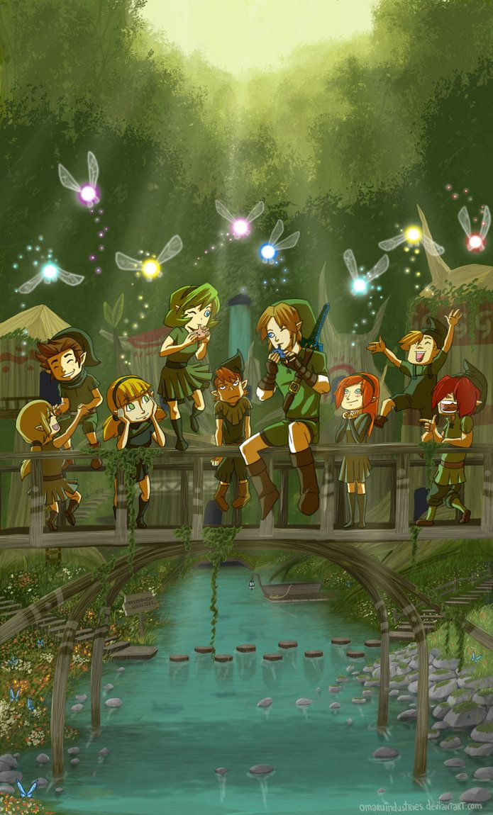 """(Ocarina of Time) """"Time passes, love remains."""""""