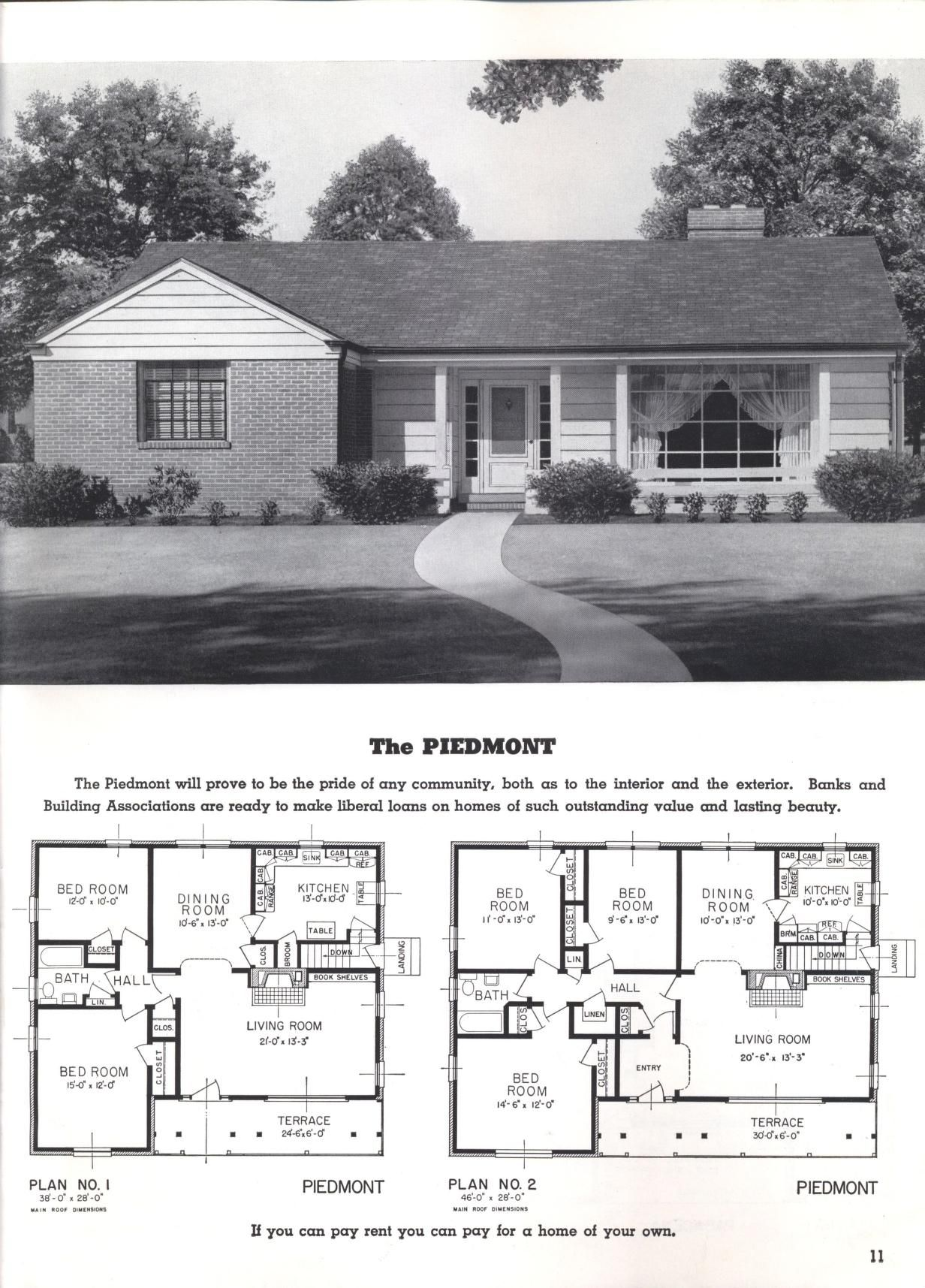 Better Homes At Lower Cost A 50 By Standard Homes Co Publication Date 1950 Sims House Plans Old Houses Better Homes