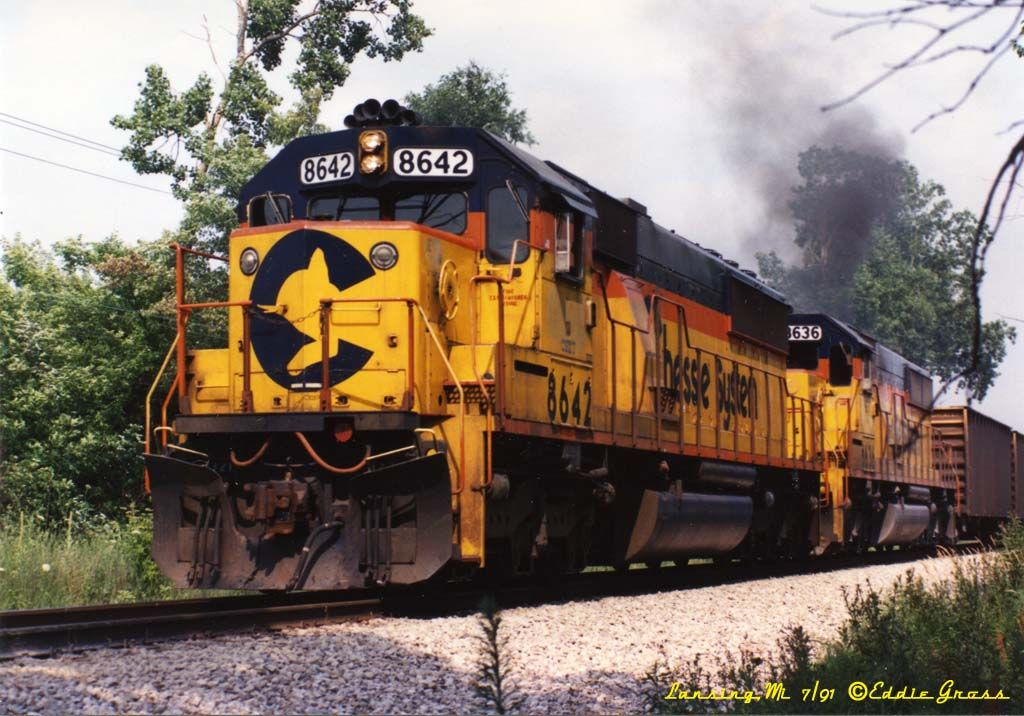Formed as a holding company in 1972, the Chessie System remains one of the most unique stories in American railroad history. Created from three great railways—the mighty Baltimore & Ohio, the refined Chesapeake & Ohio, and the small but feisty Western Maryland—the Chessie was most renowned (aside from its stylized take on the C's kitten logo) for its innovations and advanced technologies.