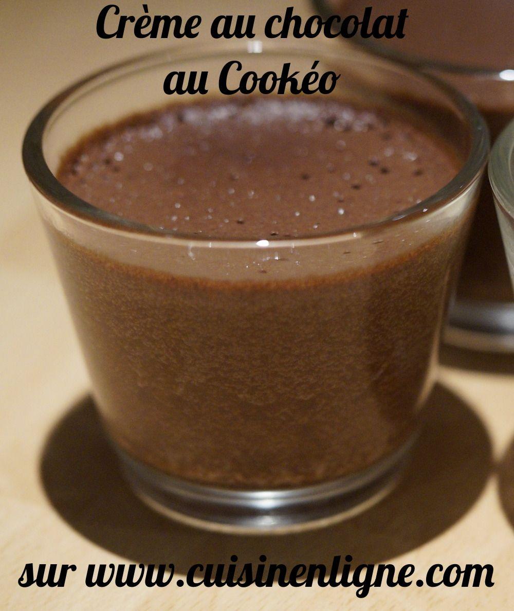 Crème chocolat au Cookéo