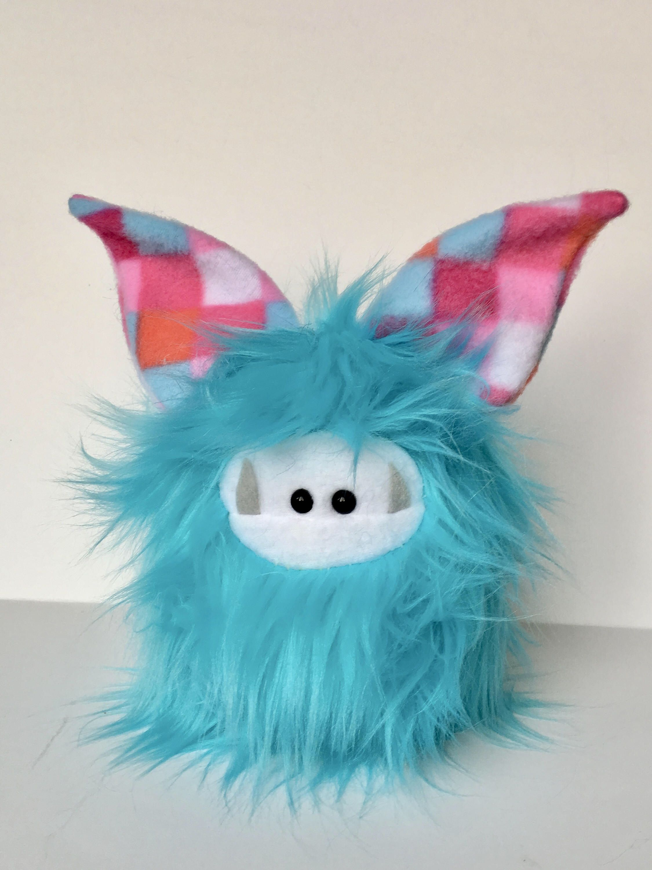 Plush Monster Stuffed Toy Cute Plush Animal Monster Softie