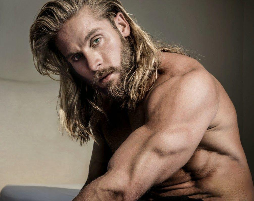 Long Haired Hippie Man Photos