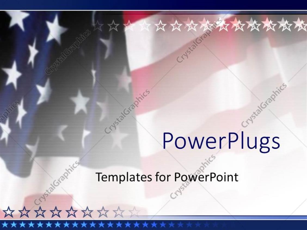 Powerpoint Template American Flag Patriotic On Faded Background Intended For Patriotic Powerpoint Templa Powerpoint Templates Powerpoint Professional Templates