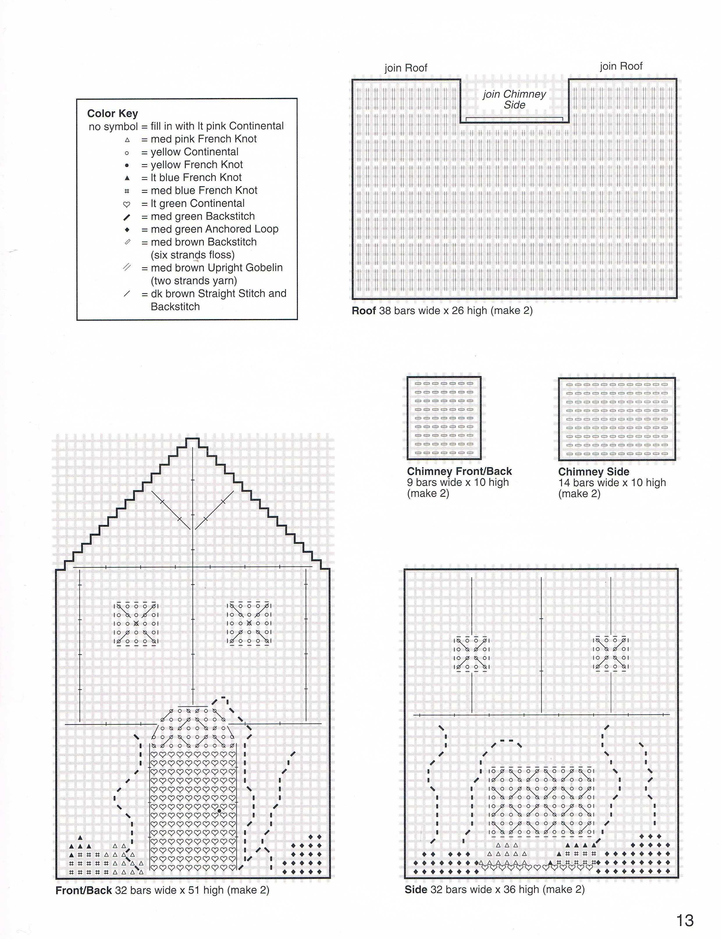 Tissue Box Houses 10 | Plastic canvas & Crochet | Pinterest ...
