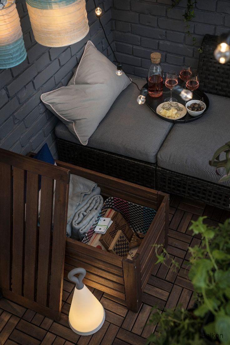 Balkon Aufbewahrung für den Balkon, Aufbewahrung balkon
