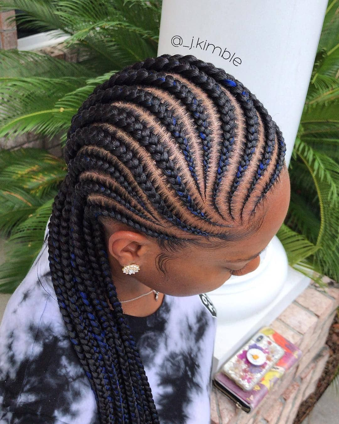 There Are So Many Different Ways To Get Creative With Your Braids Cornrow Hairstyles African Hair Braiding Styles Natural Hair Styles