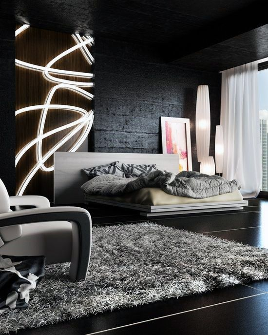 Blackwalls Blackinterior Bedroom