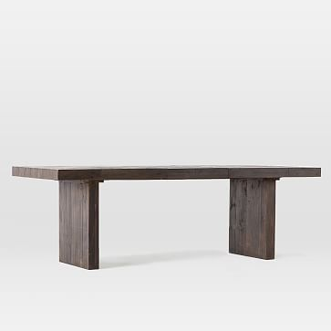 Emmerson Reclaimed Wood Expandable Dining Table 72 93 Chestnut