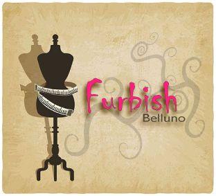 Logo 1 Furbish scritta fucsia